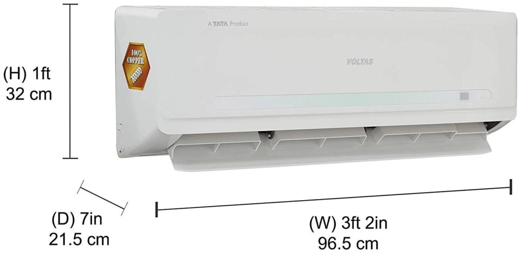 Voltas 1 Ton 5 Star Inverter Split AC
