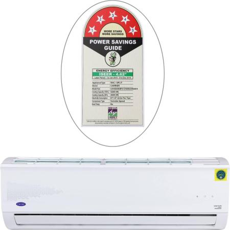 Carrier 1.5 Ton 5 Star Inverter Split AC