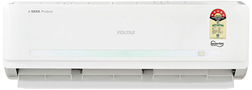 Voltas 1.5 Ton 5 Star Inverter Split AC