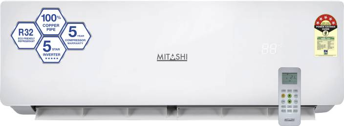 Mitashi 1.5 Ton 5 Star Inverter Split AC