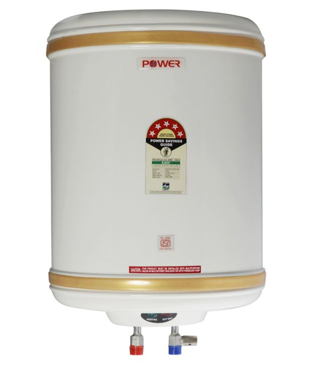 POWER PYE ELECTRONICS 5 Star ISI Mark Stainless Steel Water Heater Geyser