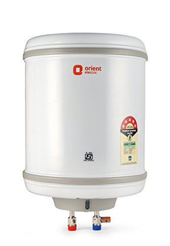 Orient Electric Aqua Spring Storage 15L Vertical Water Heater-BEE 4 Star