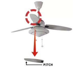 fan blade pitch