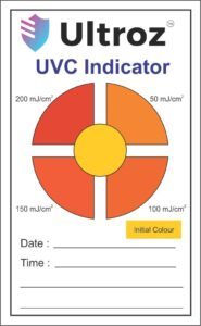 uvc testing card